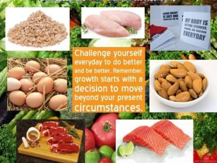 18-pound weightloss challenge