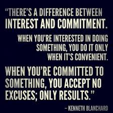 My favorite Commitment Quote