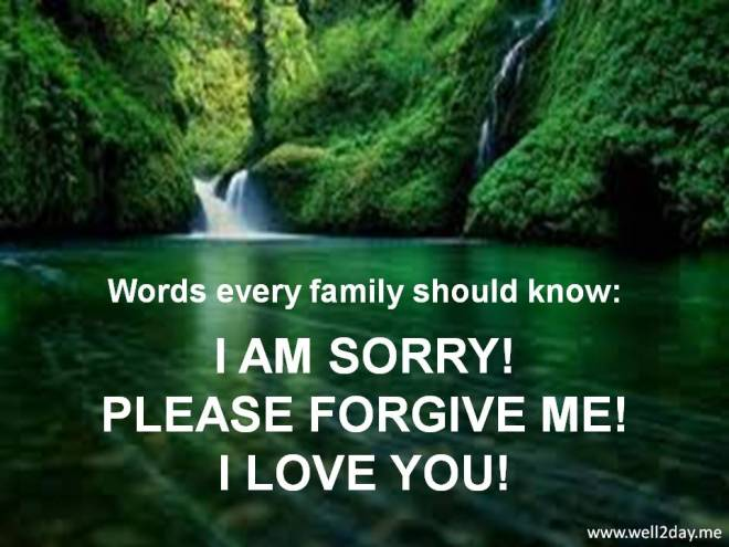Words Every Family Should Know