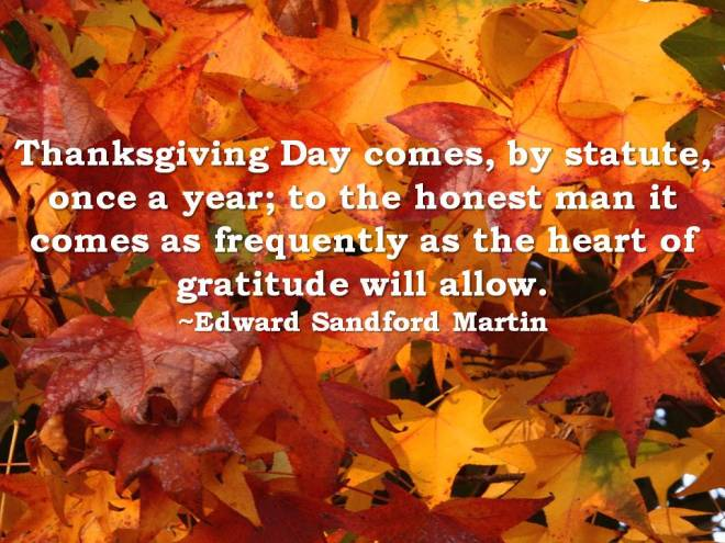 Thanksgiving Mood
