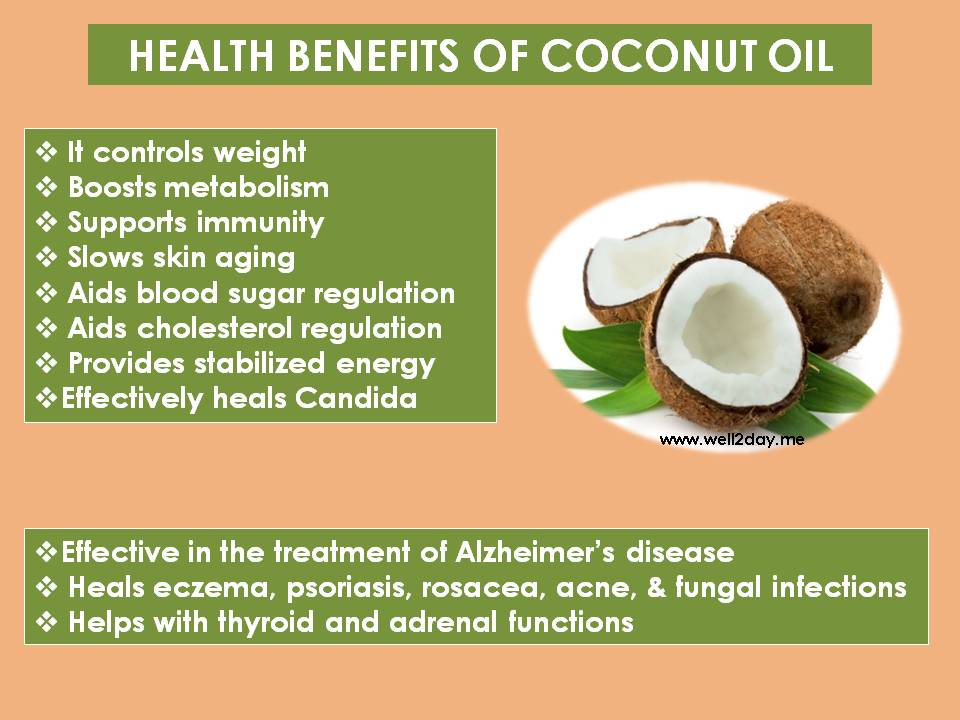 Coconut Oil – Glimpses of Health