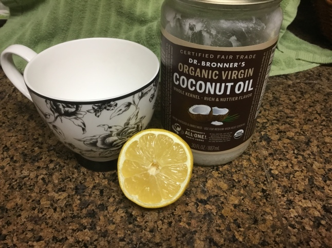 Lemon Coconut Water