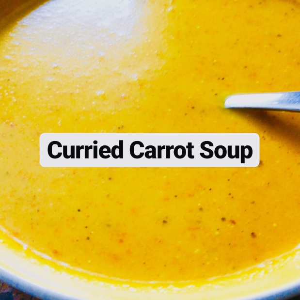Curried Creamy Carrot Soup